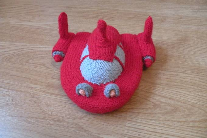 knits rocket - Senpolia Toy Knits