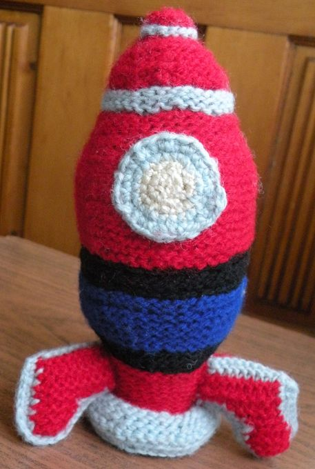 knitted rocket