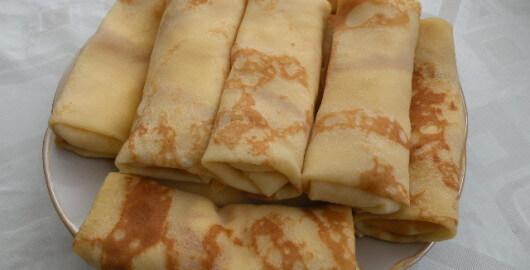 Pannkakor med ost