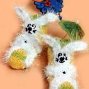 Die Hasen-glücklich-Socken
