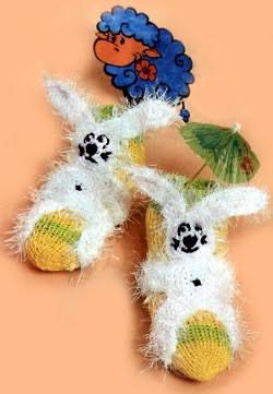 Socks Cheerful bunny
