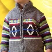 Jacheta cu model suedez