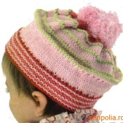 headpiece in cheerful colors