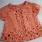 Jacke orange t-shirt