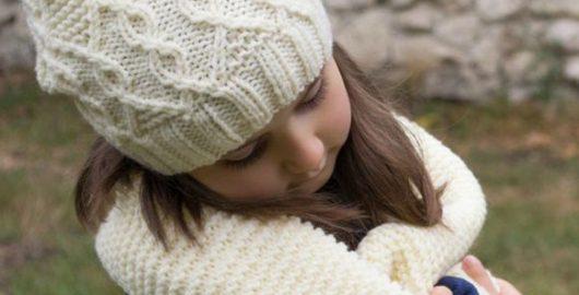 Mütze und Schal für Mädchen