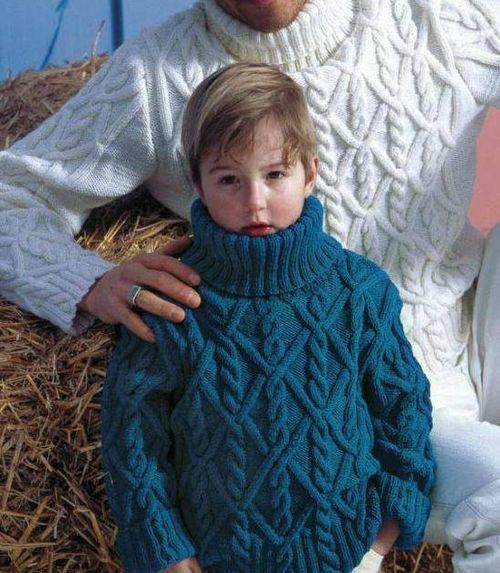 Winter-Pullover für jungen