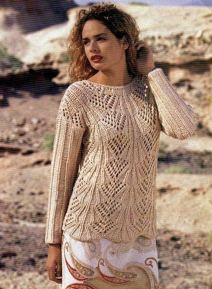 Sandy sweater