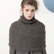 Pelerina tricotata