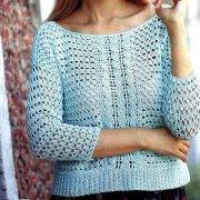 Pullover Farbe Minze