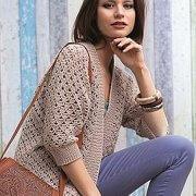 Jacket crochet summer